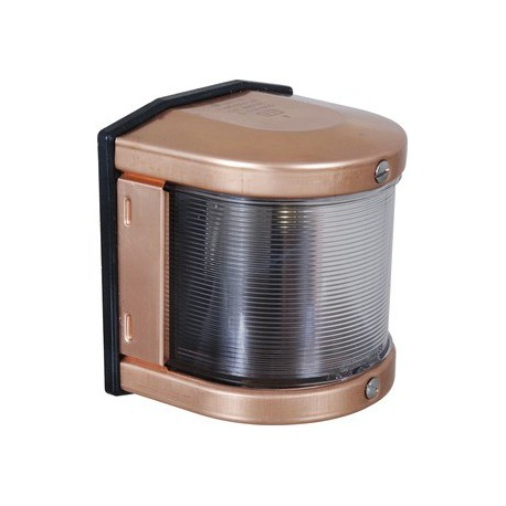 Copper navigation light - STARBOARD