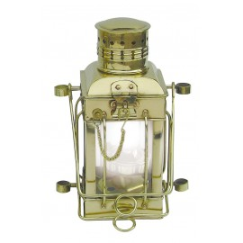 Cargo Lamp, brass, electric 230V, H: 25cm