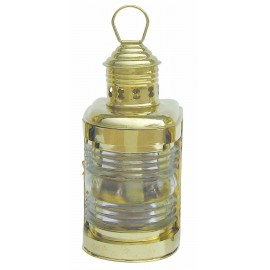 Mast Lamp, brass, with petroleum burner, H: 23cm