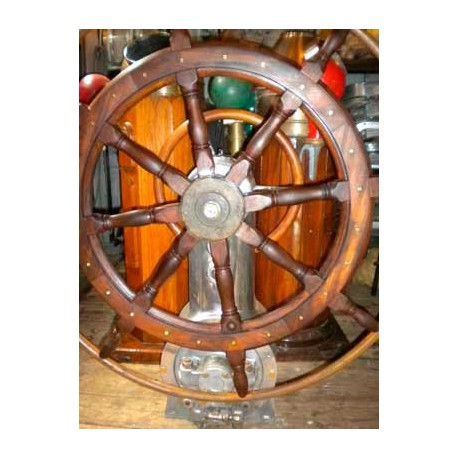 Double steering wheel with stand
