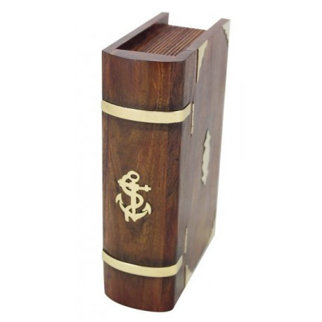 Book box with lock enclosed