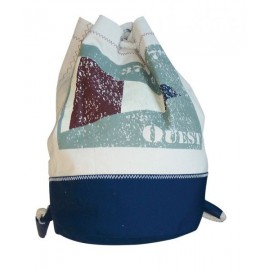 Backpack small with flag OUEST