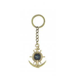 Keyring - Anchor/Wheel