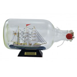 Bottle-ship - Gorch Fock, L: 27,5cm