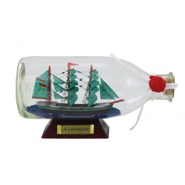 Bottle-ship - A.v.Humboldt, L: 16cm