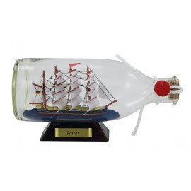Bottle-ship - Passat, L: 16cm