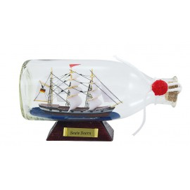 Bottle-ship - Seute Deern, L: 16cm