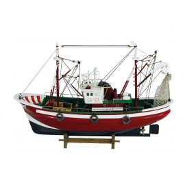 Fishing Cutter, wood, L: 46cm