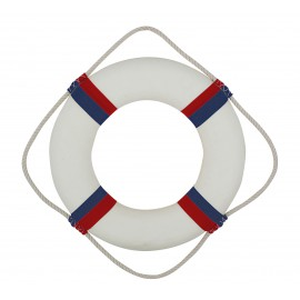 Lifebelt, white/red/blue, Ø: 35cm