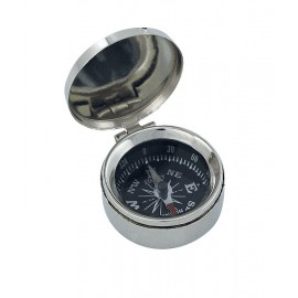 Compass with lid, Ø: 3,5cm