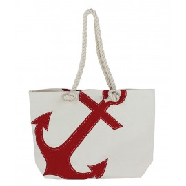 Shopping-bag with anchor