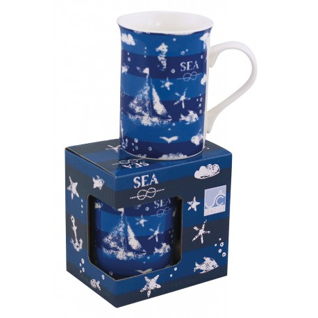 Mug - nautical, in gift box