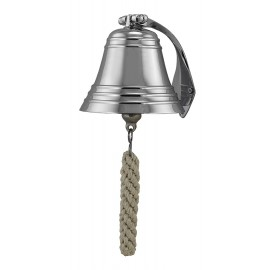 Ship's Bell, nickel plated brass, Ø: 12,5cm