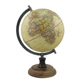 Globe, antique finish, Ø: 20cm