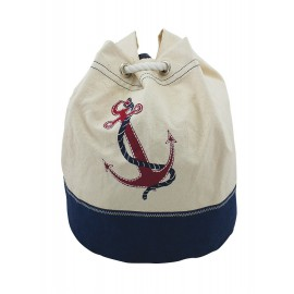 Backpack with Anchor-Design