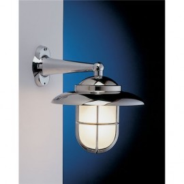 Wall lamp, chromed. IP43
