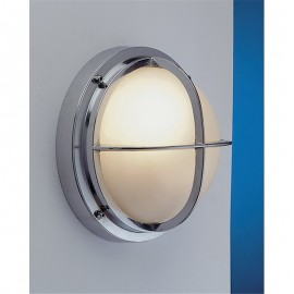 Chromed lamp, IP54