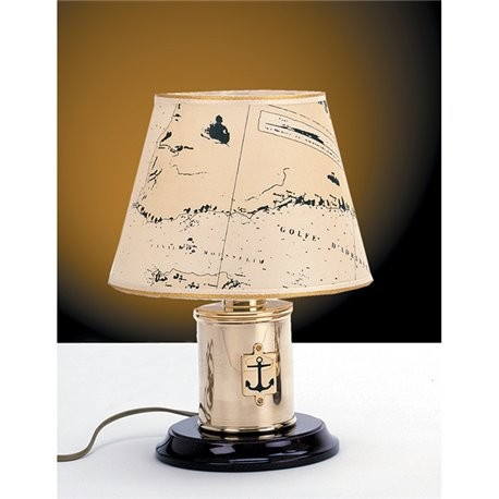 Table lamp with anchor