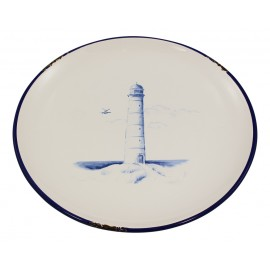 Plate with Lighthouse