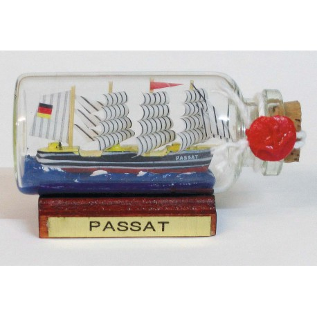 Bottle-ship - PASSAT, mini, L: 6cm