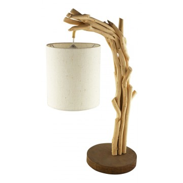 Drift-wood lamp