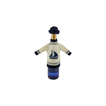 Bottle sweater with cap