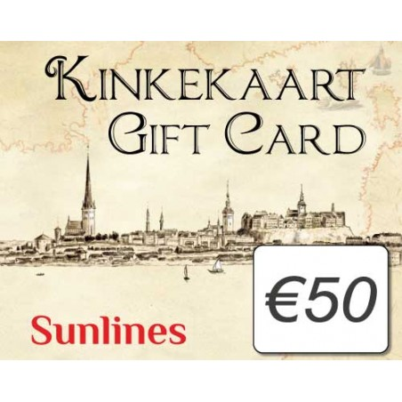 Sunlines Gift Card €50