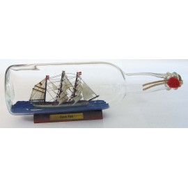 Bottle-ship - Gorch Fock, 0,7l., L: 29cm