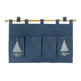 Canvas wall hanging organizer