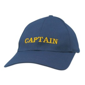 Cap - CAPTAIN, cotton, embroidered