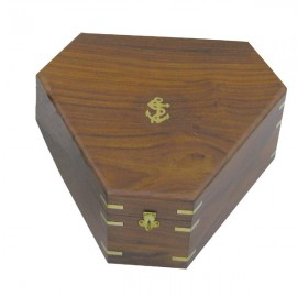 Box for sextant 8202S, wood, 29,5x26x13cm