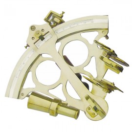 Sextant, with micrometer