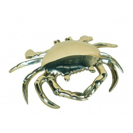 Ashtray - Crab, brass, 18x13x4cm