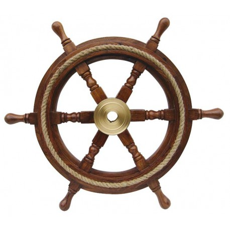 Steering Wheel with rope inlay