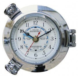 Tide Clock in chromed porthole
