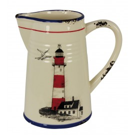 Spout pot with lighthouse design