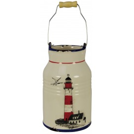Cannikin with lighthouse design