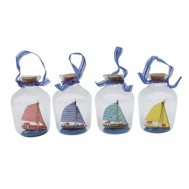 Hanging bottle-ships - Sailing boats
