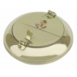 Ashtray with double lid