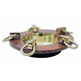 Ashtray with 5 shackles