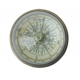 Compass with dome glass