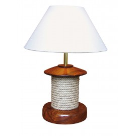 Lamp with rope