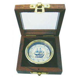 Compass with ship wind rose