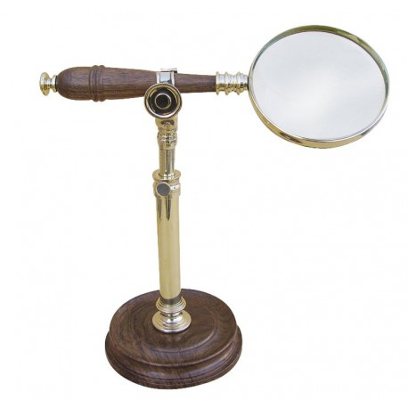 Magnifier on stand