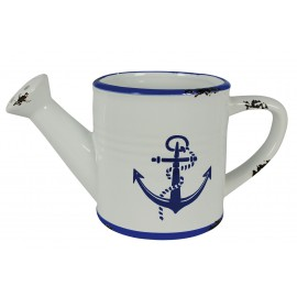 Watering-pot with anchor design